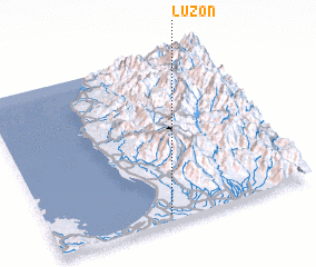 3d view of Luzon
