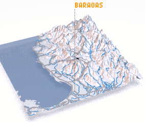 3d view of Baraoas