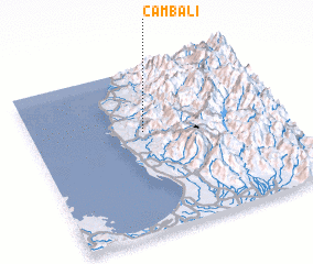 3d view of Cambali