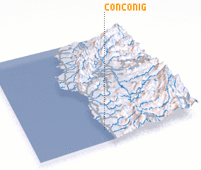 3d view of Conconig