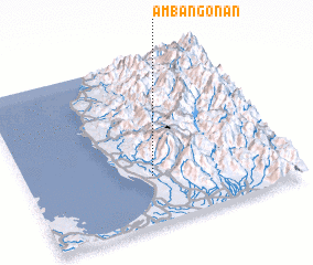 3d view of Ambangonan
