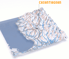 3d view of Casantiagoan