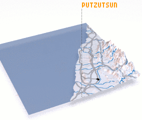 3d view of Pu-tzu-ts\