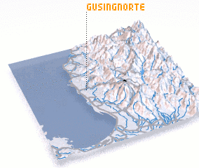 3d view of Gusing Norte