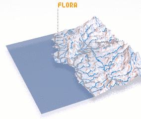 3d view of Flora