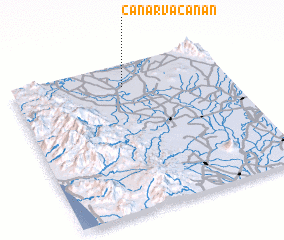 3d view of Canarvacanan