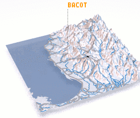 3d view of Bacot