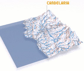3d view of Candelaria