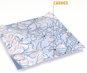 3d view of Carmen