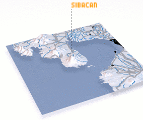 3d view of Sibacan