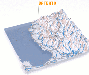 3d view of Batbato