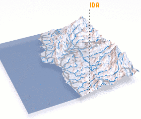 3d view of Ida