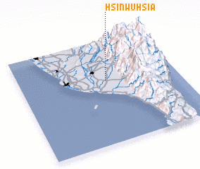 3d view of Hsin-wu-hsia