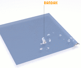 3d view of Bandak