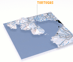 3d view of Tortugas