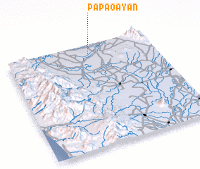 3d view of Papaoayan