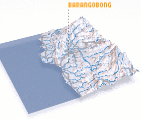 3d view of Barangobong