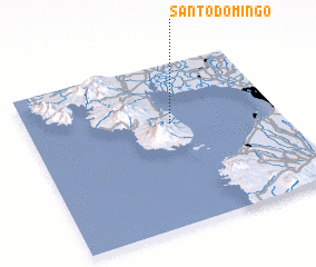 3d view of Santo Domingo