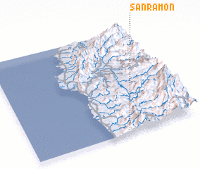 3d view of San Ramon