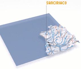 3d view of San Ciriaco