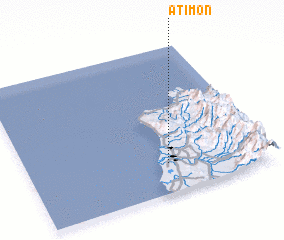 3d view of Atimon