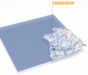 3d view of Zamboanga