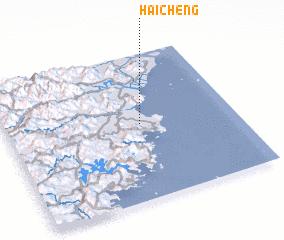 Haicheng China Map Nonanet - Haicheng map