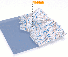 3d view of Pidigan