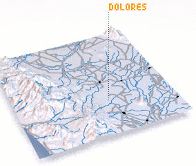3d view of Dolores