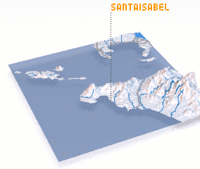 3d view of Santa Isabel