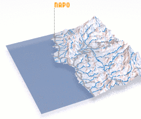3d view of Napo
