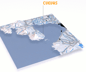 3d view of Cuevas
