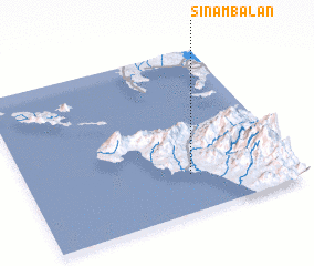 3d view of Sinambalan