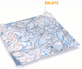 3d view of Balate
