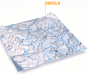 3d view of Dangla