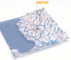 3d view of Ba-Ayan