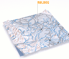 3d view of Malbeg