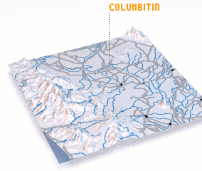 3d view of Columbitin