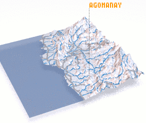 3d view of Agomanay