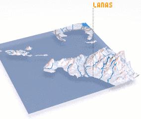 3d view of Lanas