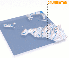 3d view of Calumbayan