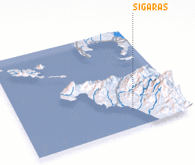 3d view of Sigaras