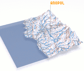 3d view of Anopol