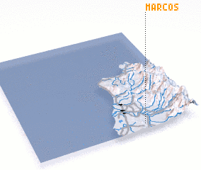 3d view of Marcos