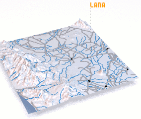 3d view of Lana