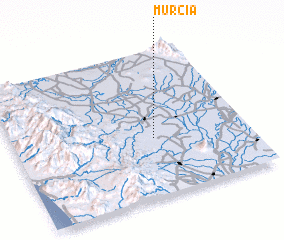 3d view of Murcia