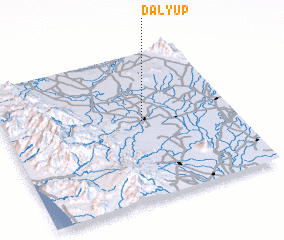 3d view of Dalyup