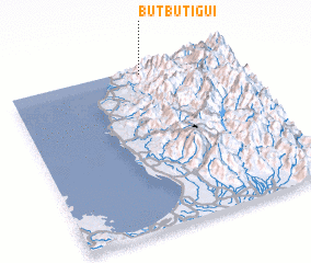 3d view of Butbutigui