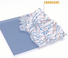 3d view of Sabañgan