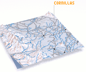 3d view of Cornillas